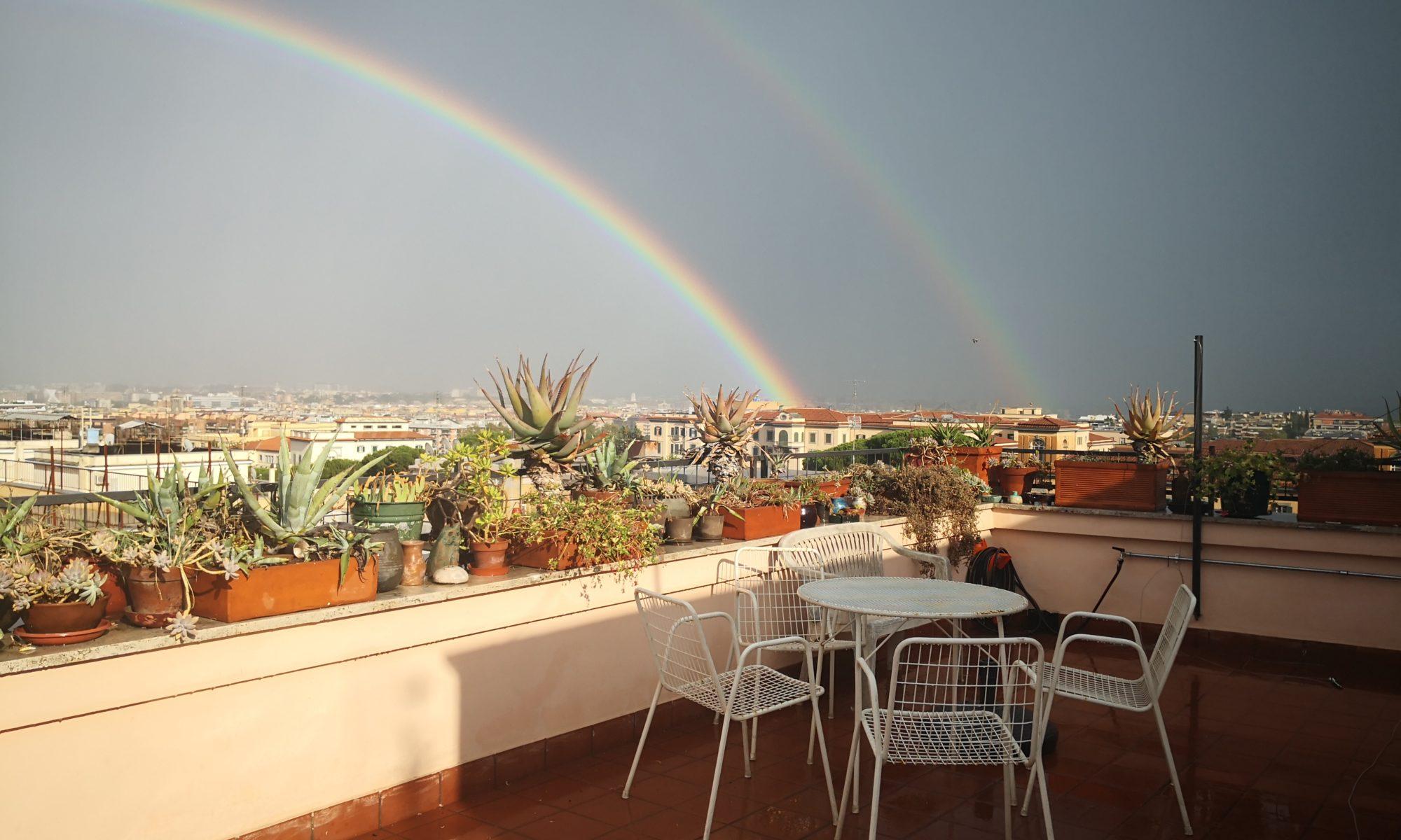 Rosa's terrace Roma